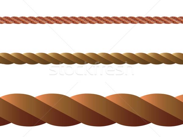 rope vector Stock photo © robertosch