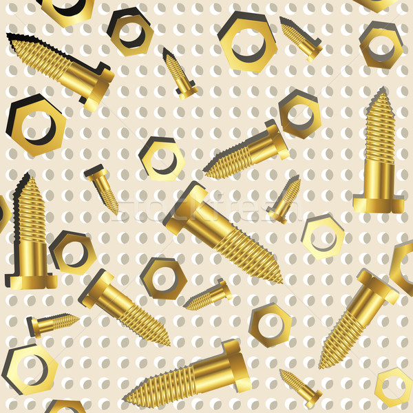 Diók fémes textúra absztrakt művészet illusztráció Stock fotó © robertosch