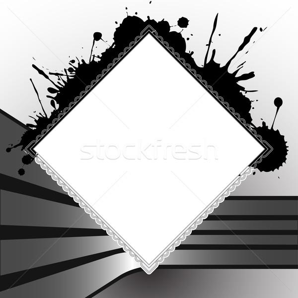 Praça modelo projeto abstrato vetor Foto stock © robertosch