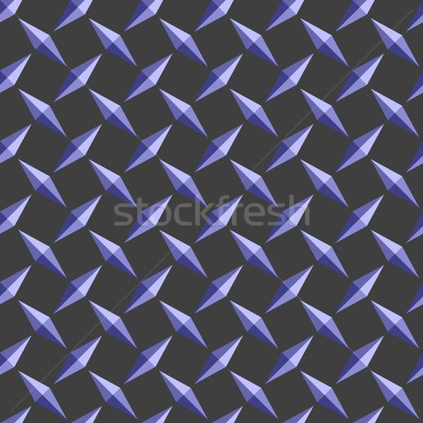 Diament tablicy wzór streszczenie bezszwowy tekstury Zdjęcia stock © robertosch