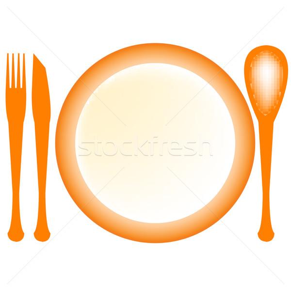 Stock photo: bon apetit