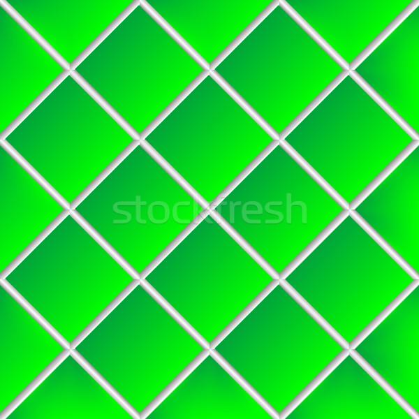 Foto d'archivio: Verde · ceramica · piastrelle · abstract · vettore · arte