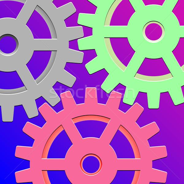 gear box mechanism Stock photo © robertosch