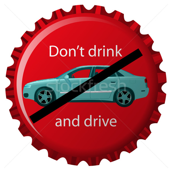dont drink and drive Stock photo © robertosch