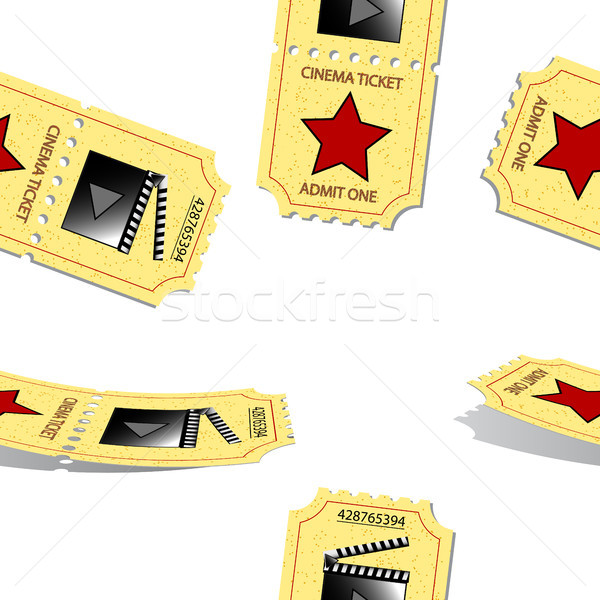 cinema tickets pattern Stock photo © robertosch