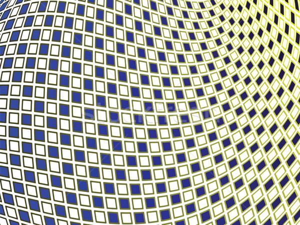Falisty wektora sztuki ilustracja tekstury Zdjęcia stock © robertosch