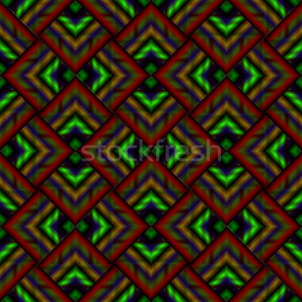 geometric stripy background Stock photo © robertosch