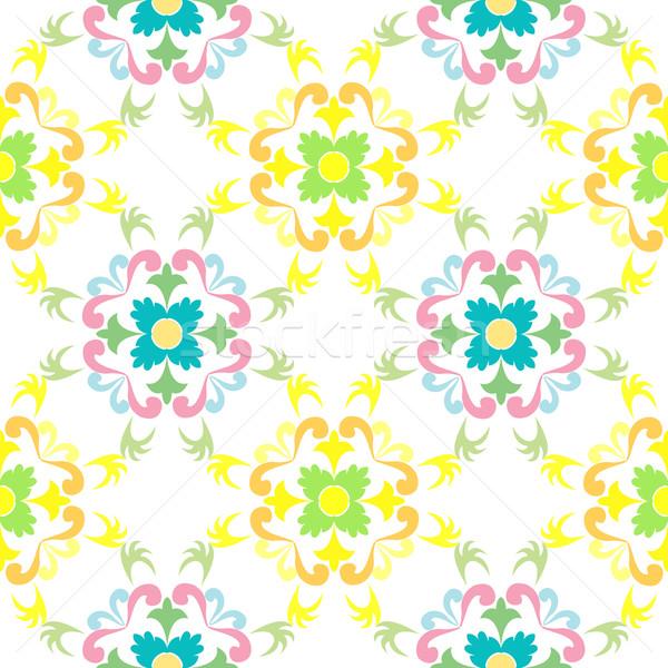 Naadloos patroon vector kunst illustratie Stockfoto © robertosch