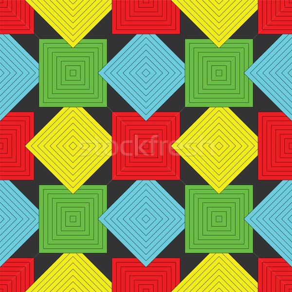 Padrão abstrato sem costura textura vetor Foto stock © robertosch
