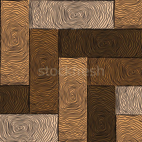wooden colored parquet Stock photo © robertosch