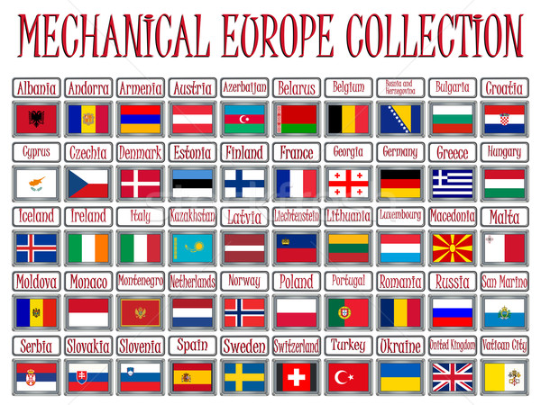 mechanical europe collection Stock photo © robertosch
