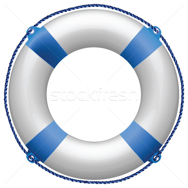life buoy blue Stock photo © robertosch