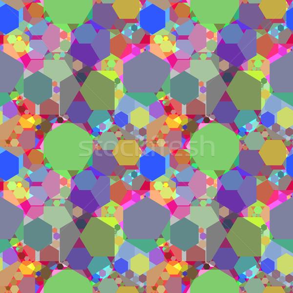 kaleidoscope extended Stock photo © robertosch