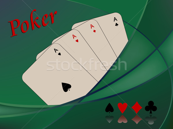 poker cards composition Stock photo © robertosch