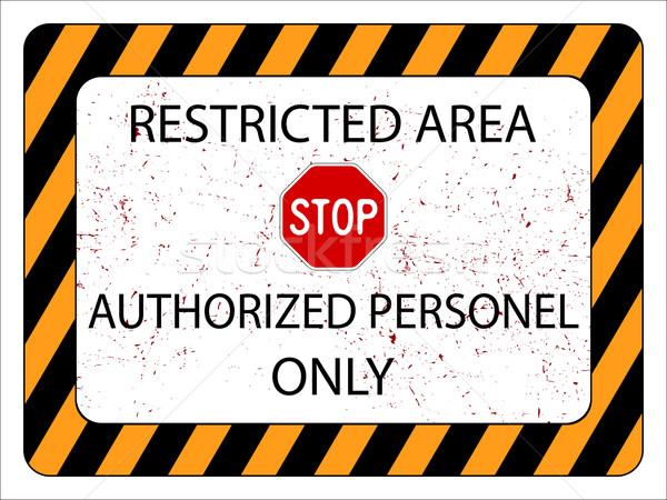 restricted area Stock photo © robertosch