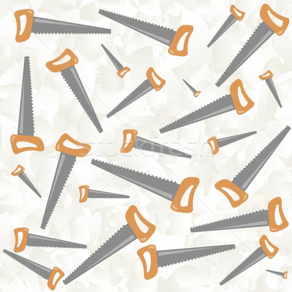 Zag patroon vector kunst illustratie meer Stockfoto © robertosch