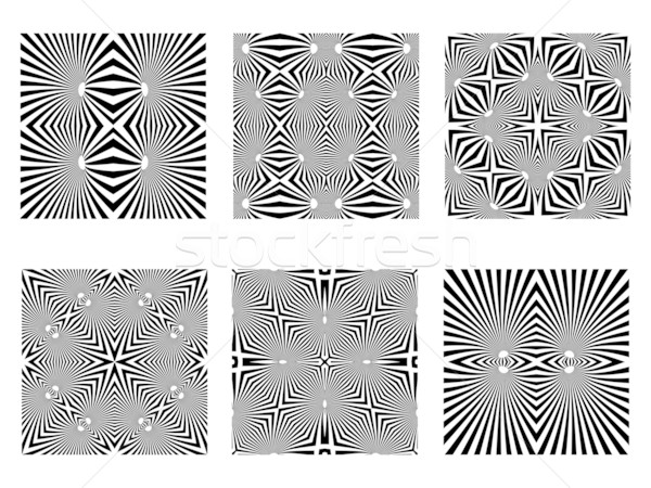 black and white patterns Stock photo © robertosch