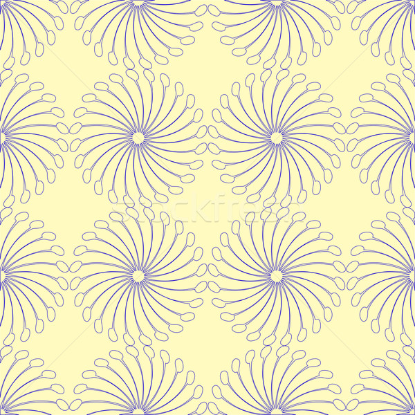 interesting blue seamless pattern Stock photo © robertosch