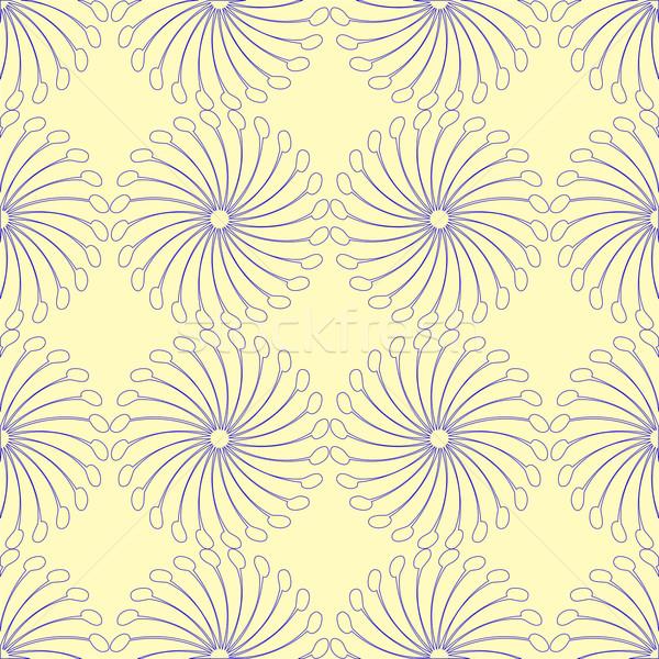 Interessante azul abstrato textura vetor Foto stock © robertosch