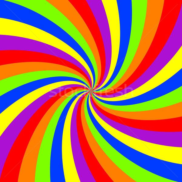 rainbow swirl pattern Stock photo © robertosch