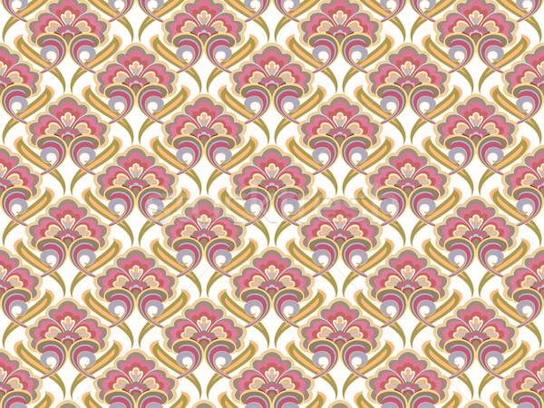 retro seamless pattern Stock photo © robertosch