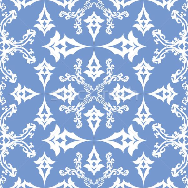 floral victorian seamless pattern Stock photo © robertosch