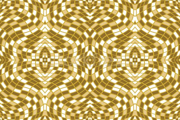 Abstract bruin vector kunst illustratie textuur Stockfoto © robertosch