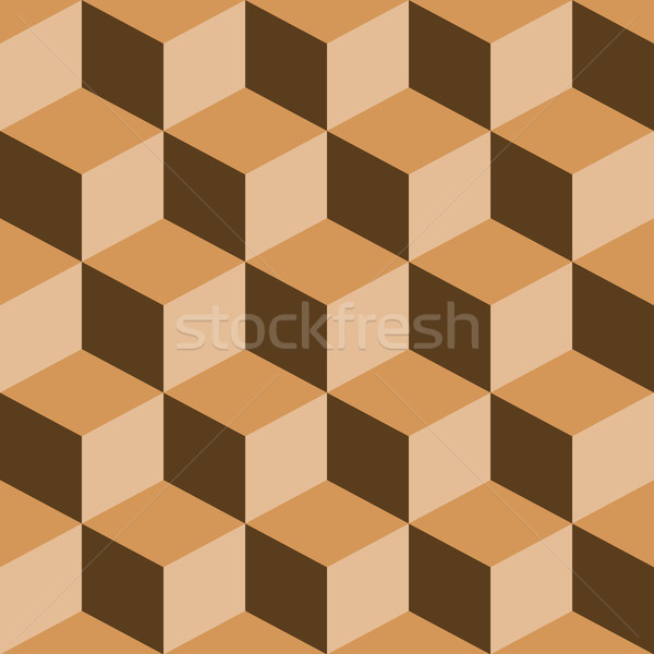 psychedelic pattern mixed brown Stock photo © robertosch