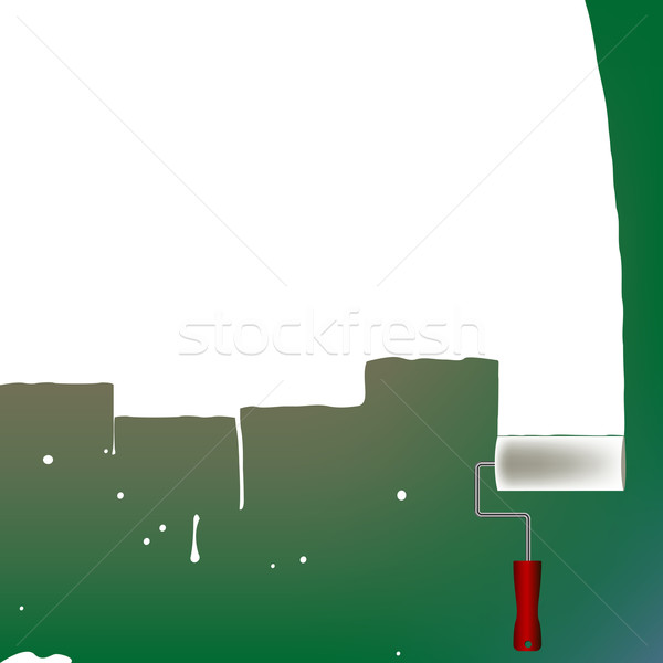 painted wall with room for text Stock photo © robertosch