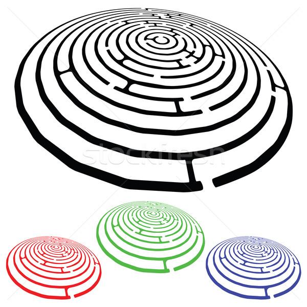 дизайна Элементы белый аннотация вектора искусства Сток-фото © robertosch