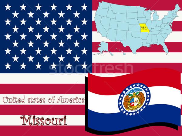 missouri state illustration Stock photo © robertosch