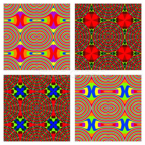 Foto d'archivio: Rainbow · abstract · texture · vettore · arte