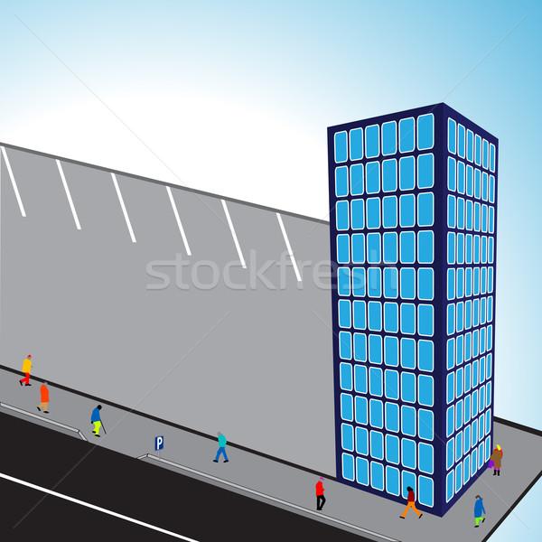 3d flats building Stock photo © robertosch