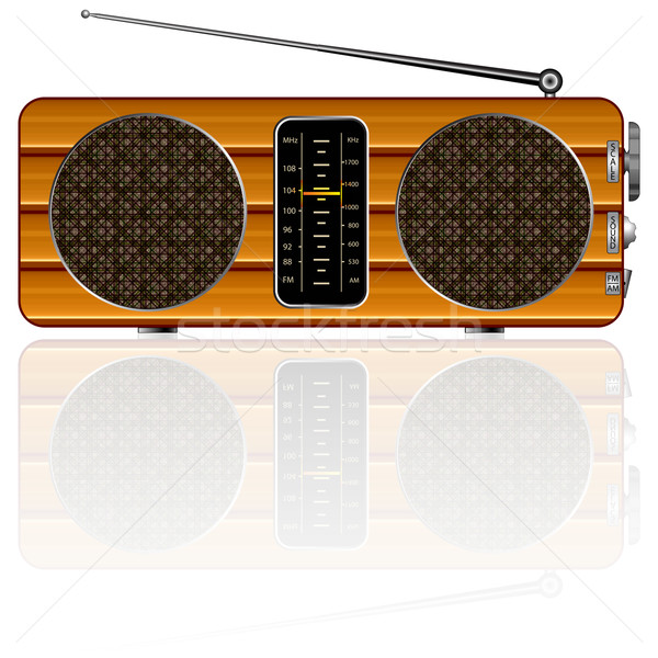 retro radio Stock photo © robertosch