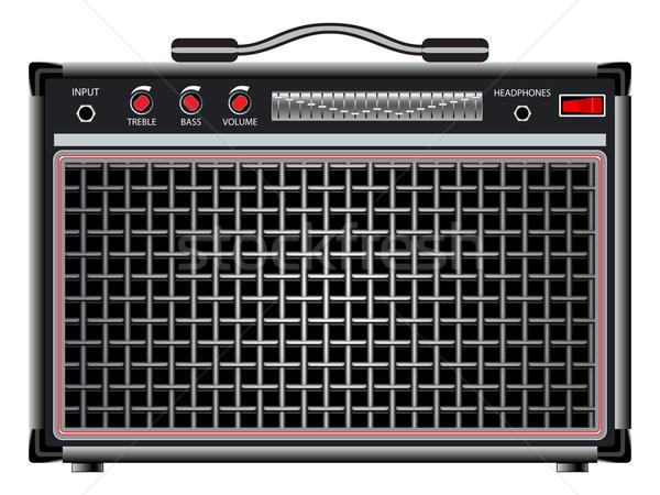 electric guitar amplifier Stock photo © robertosch