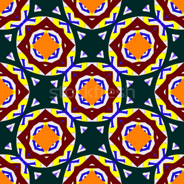 аннотация геометрический дизайна бесшовный текстуры вектора Сток-фото © robertosch