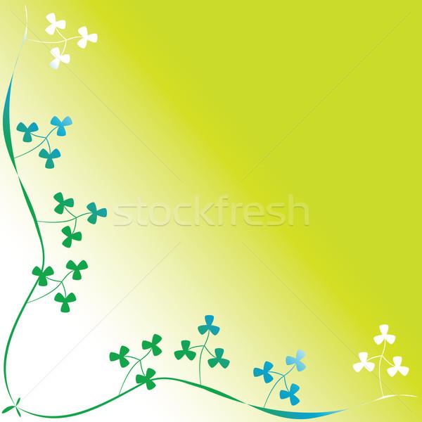 Lóhere lomb absztrakt vektor művészet illusztráció Stock fotó © robertosch