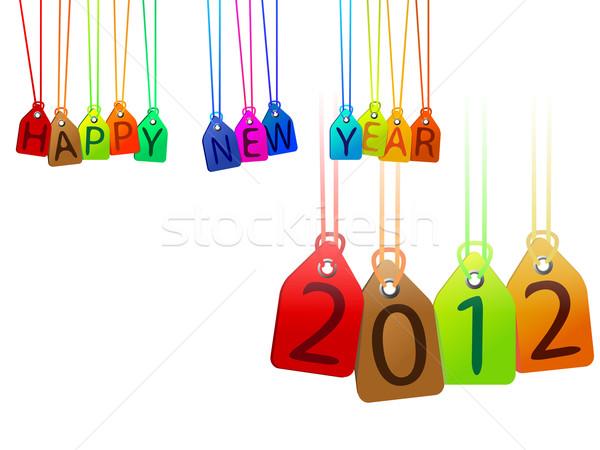 happy year 2012 Stock photo © robertosch