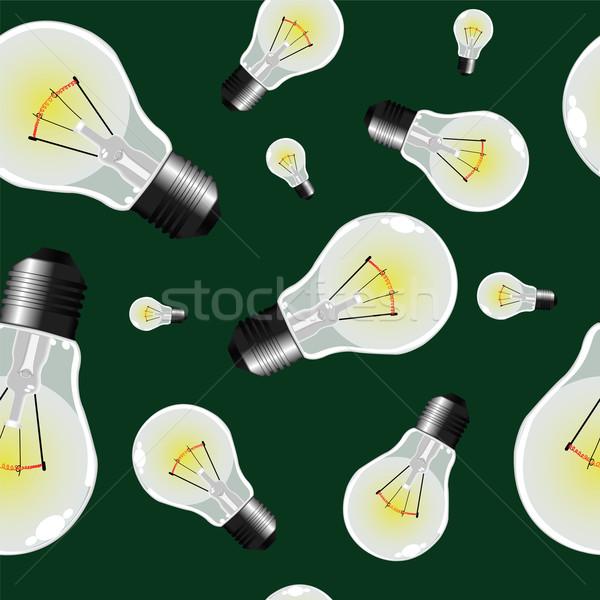 Photo stock: Ampoules · texture · résumé · modèle · vecteur