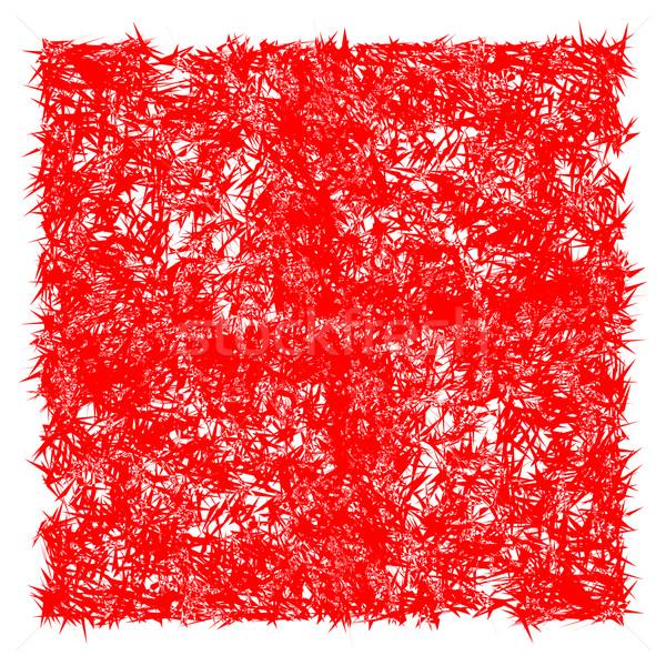 Czerwony spin tekstury wektora sztuki ilustracja Zdjęcia stock © robertosch