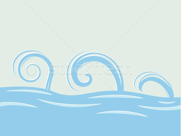 waves over sea Stock photo © robertosch