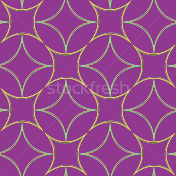 geometric abstract seamless pattern extended Stock photo © robertosch