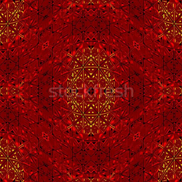 бесшовный текстуры 31 геометрический аннотация шаблон Сток-фото © robertosch