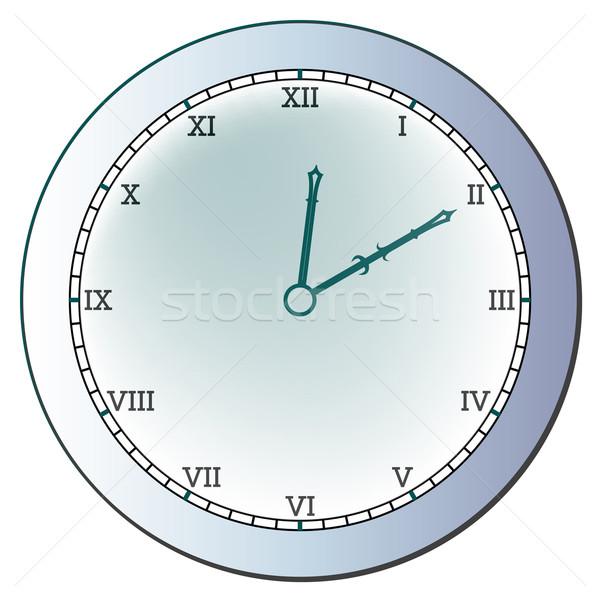 древних часы белый аннотация вектора искусства Сток-фото © robertosch