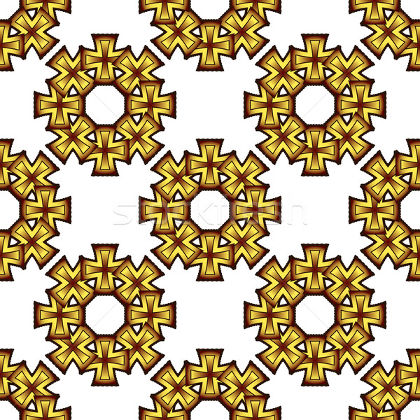 Végtelenített textúra 17 absztrakt geometrikus minta vektor Stock fotó © robertosch
