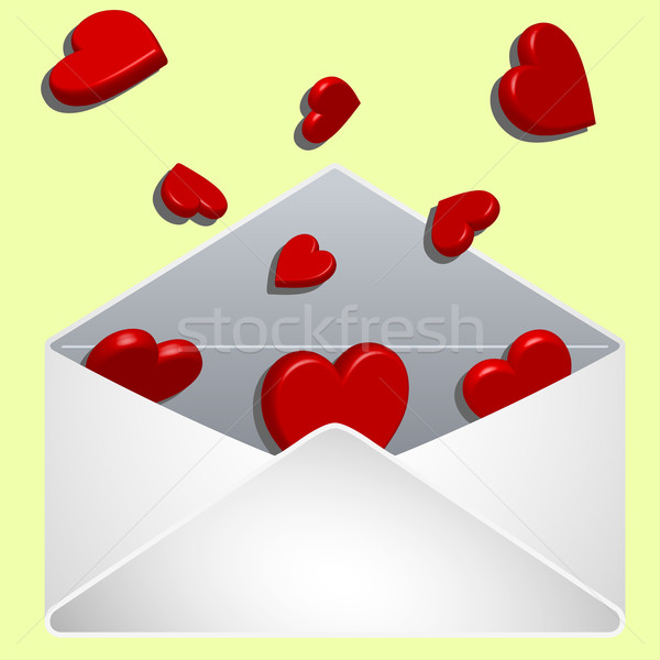 envelope with love Stock photo © robertosch