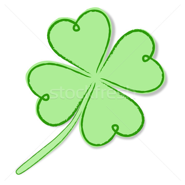 saint patrick shamrock Stock photo © robertosch