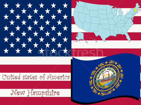 new hampshire state illustration Stock photo © robertosch