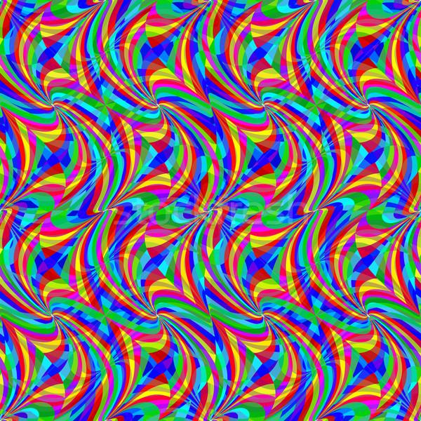wavy seamless pattern Stock photo © robertosch
