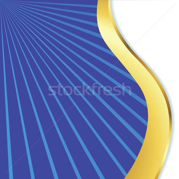 волнистый дизайна аннотация вектора искусства иллюстрация Сток-фото © robertosch